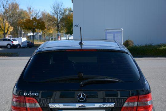 Scheibentönung Mercedes B200 5% (2)