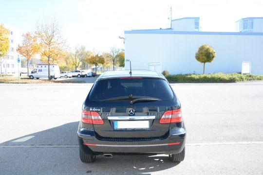 Scheibentönung Mercedes B200 5% (3)