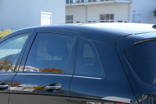 Scheibentönung Mercedes B200 5%