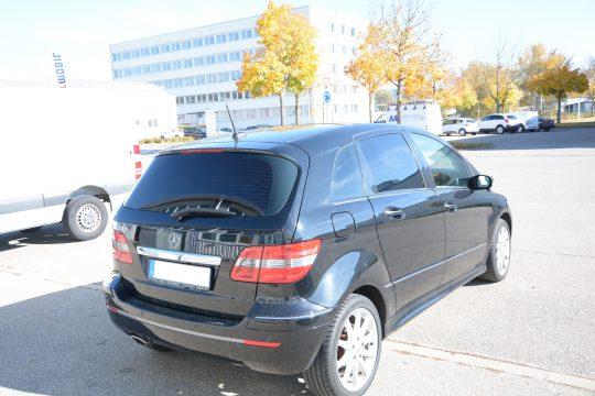 Scheibentönung Mercedes B200 5% (8)