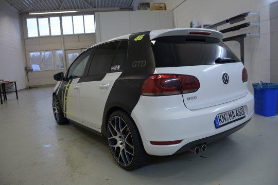auto scheibentönung VW Golf mk6 (3)