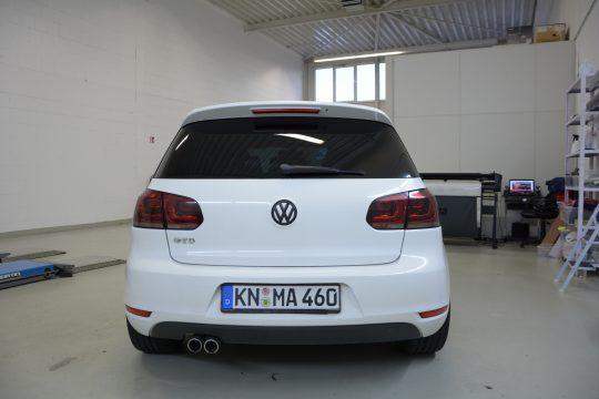 auto scheibentönung VW Golf mk6 (5)
