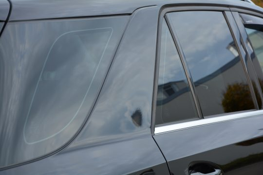 dfc folienwerk scheibentönung 10% Mercedes ML350 (2)