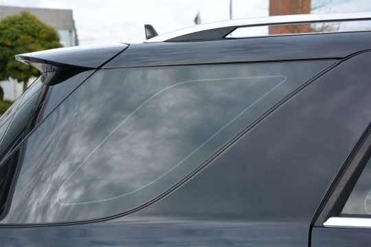 dfc folienwerk scheibentönung 10% Mercedes ML350 (4)