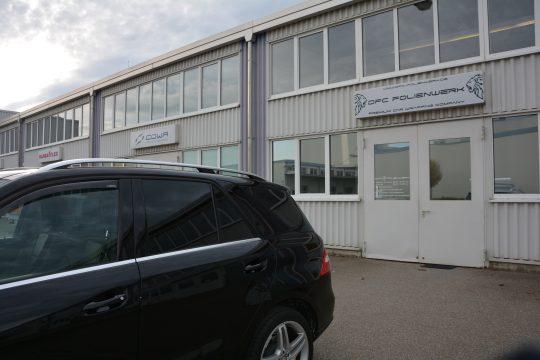 dfc folienwerk scheibentönung 10% Mercedes ML350 (6)