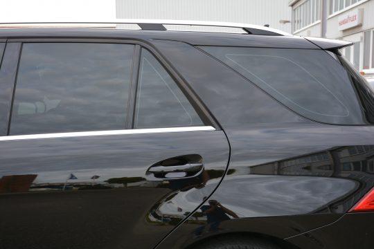 dfc folienwerk scheibentönung 10% Mercedes ML350 (8)