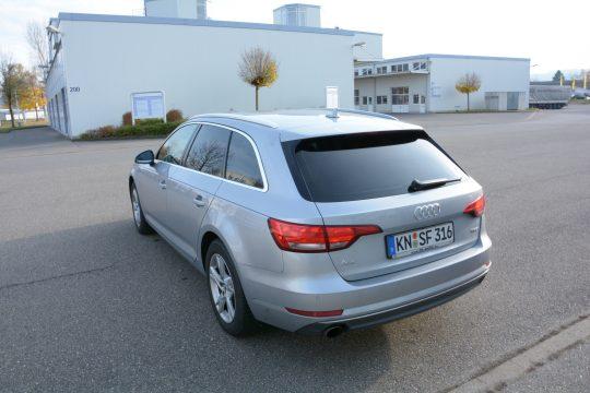 Autoscheiben tönen 15% Audi A4 2016 (6)