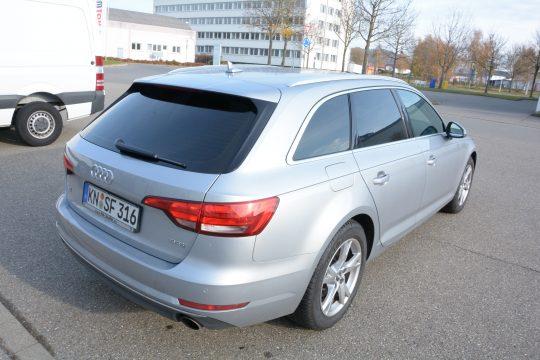 Autoscheiben tönen 15% Audi A4 2016 (8)