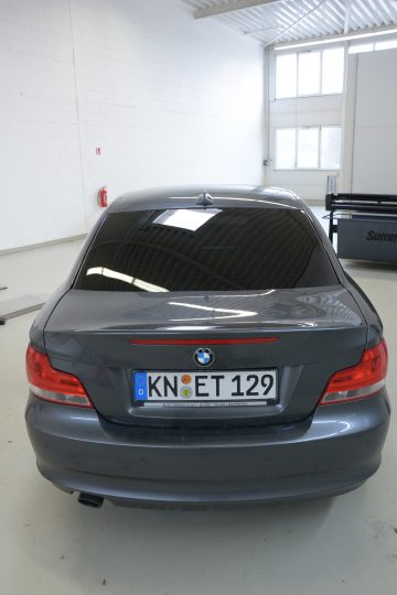 Scheiben tönen Scheiben tönen Autoscheiben tönen Gottmadingen Singen BMW 1 (5)