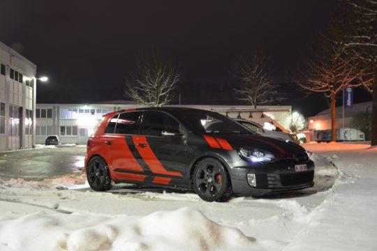 Teilfolierung Folierung VW Golf 6 GTI DFC FolienWerk Design Singen Gottmadingen (11)