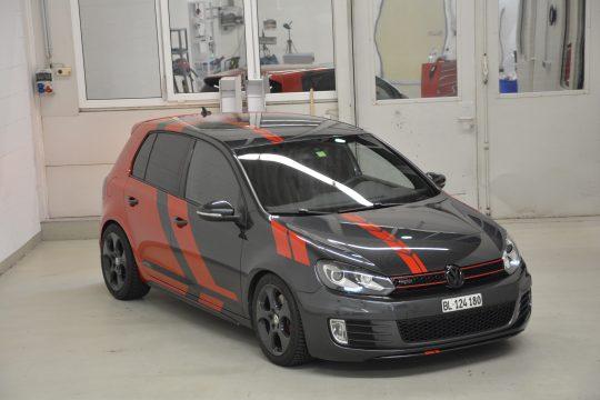 Teilfolierung Folierung VW Golf 6 GTI DFC FolienWerk Design Singen Gottmadingen (3)