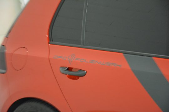 Teilfolierung Folierung VW Golf 6 GTI DFC FolienWerk Design Singen Gottmadingen (4)