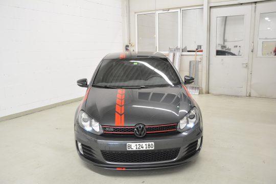 Teilfolierung Folierung VW Golf 6 GTI DFC FolienWerk Design Singen Gottmadingen (5)