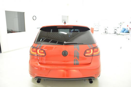 Teilfolierung Folierung VW Golf 6 GTI DFC FolienWerk Design Singen Gottmadingen (6)