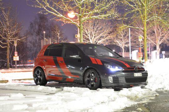 Teilfolierung Folierung VW Golf 6 GTI DFC FolienWerk Design Singen Gottmadingen (7)