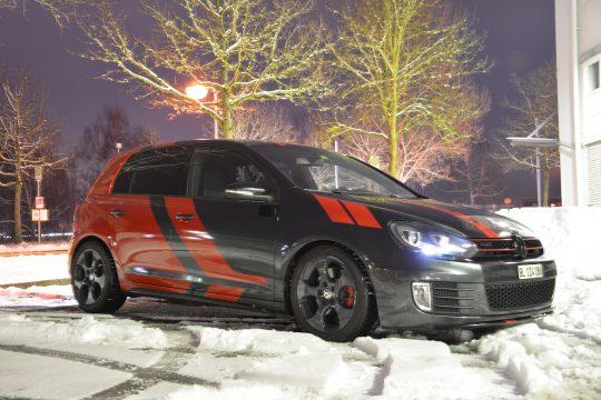 Teilfolierung Folierung VW Golf 6 GTI DFC FolienWerk Design Singen Gottmadingen (8)