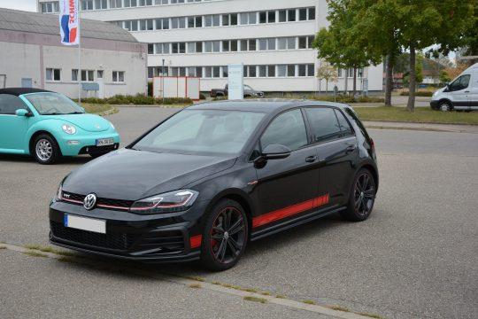 Gottmadingen Singen Autofolierung Golf GTI 7 Volkswagen Aufkleber Seitenstreifen (3)