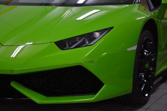 Lackschutzfolierung komplett front Lamborghini Huracan Spider Lackschutz Folie (4)