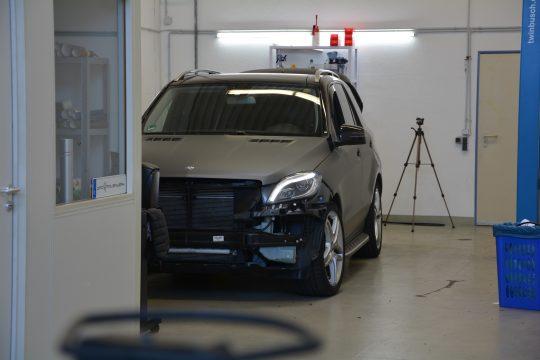 Mercedes ML VOllfolierung bodensee