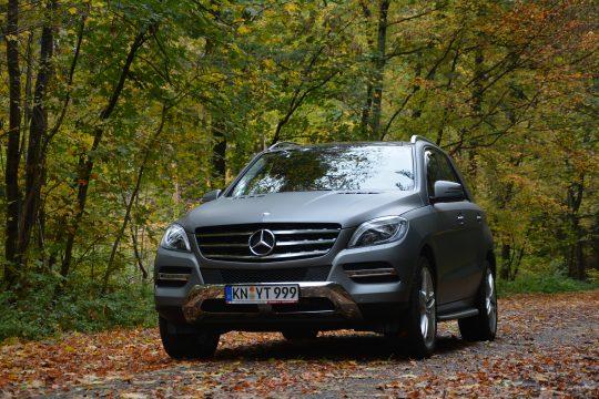 avery gunmetal matte metallic Vollfolierung Mercedes ML dfc Folienwerk folierung singen (12)