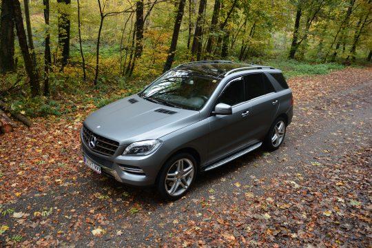 avery gunmetal matte metallic Vollfolierung Mercedes ML dfc Folienwerk folierung singen