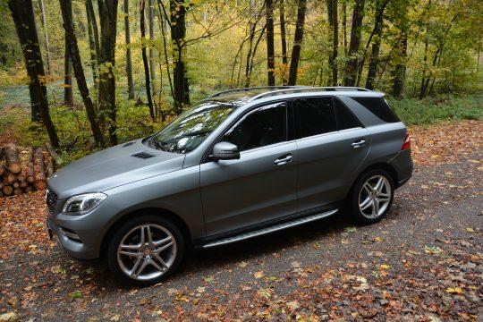 avery gunmetal matte metallic Vollfolierung Mercedes ML dfc Folienwerk folierung singen gottmadingen