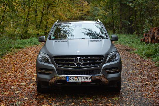avery gunmetal matte metallic Vollfolierung Mercedes ML dfc Folienwerk folierung singen zurich